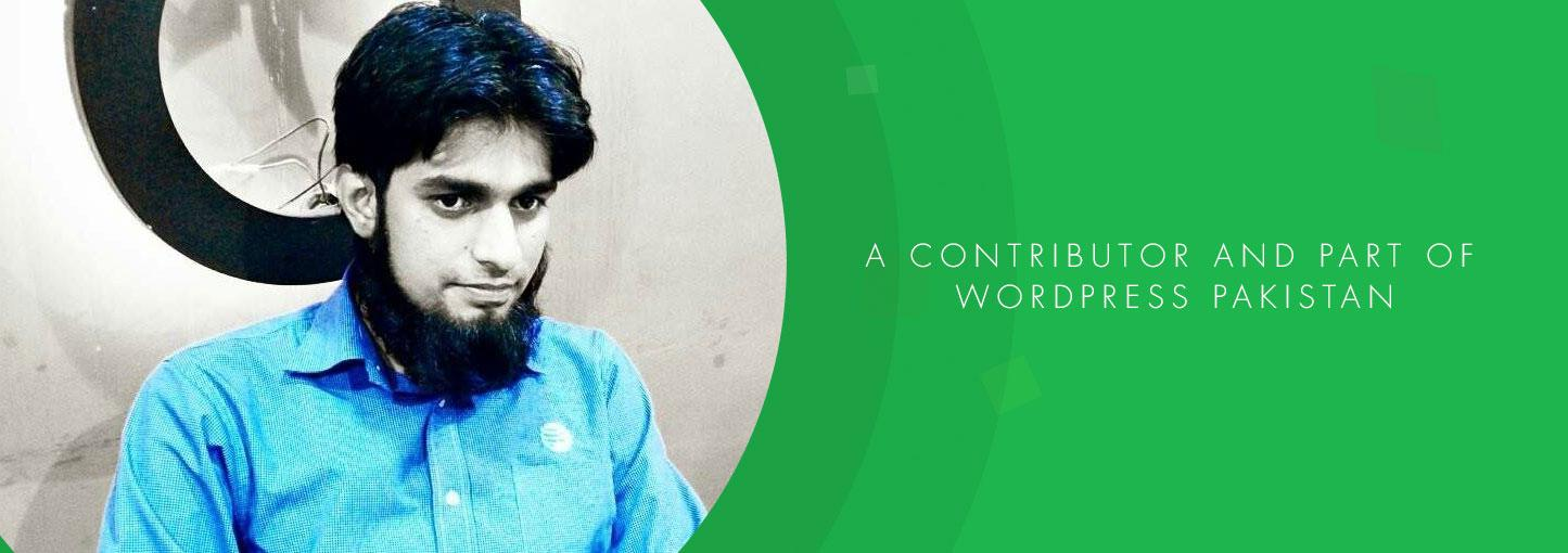 WP PK Story #7: Meet Malik Waqas — Freelance WordPress Developer